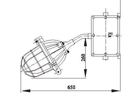 压板,阻止力传递到接线端子上和防止电缆可能产生的移动,防止电气连接