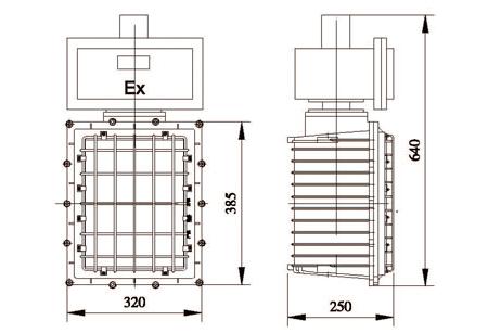 英文名称:explosion-proof lamp 说明:具有防爆性能的一类照明灯具.